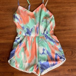 Brand New Charlotte Russe size small romper